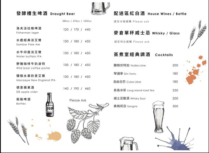 新竹美食|城咖 牛排精釀餐廳 裝潢與氣氛都非常好的餐酒館!現切牛排、精釀啤酒