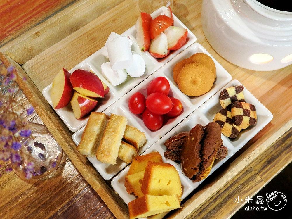 忠孝敦化美食|吾獨食驗室 超好拍的九宮格巧克力鍋,穿實驗袍用餐真有趣! 東區早午餐下午茶